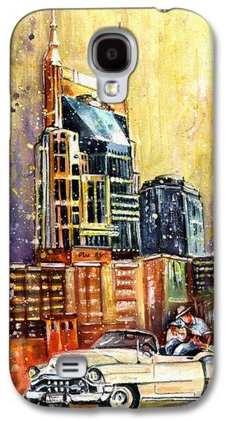Nashville Authentic Galaxy S4 Case by Miki De Goodaboom