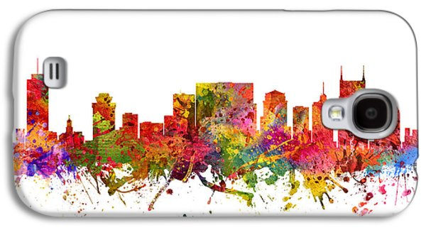 Nashville Tennessee Galaxy S4 Cases - Nashville Cityscape 08 Galaxy S4 Case by Aged Pixel