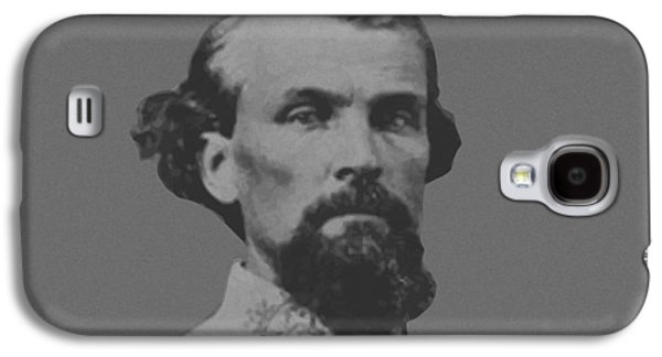 Army Digital Art Galaxy S4 Cases - Nathan Bedford Forrest Galaxy S4 Case by War Is Hell Store