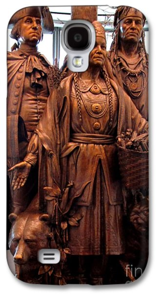 National Museum Of The American Indian 8 Galaxy S4 Case by Randall Weidner