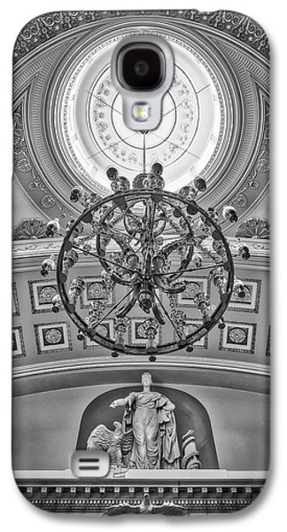 National Statuary Hall Washington Dc Bw Galaxy S4 Case by Susan Candelario