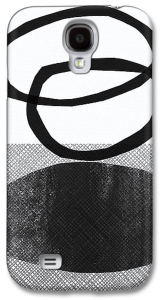"""""""geometric Art"""" Galaxy S4 Cases - Natural Balance- abstract art Galaxy S4 Case by Linda Woods"""