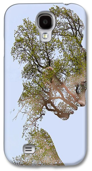 Girl Galaxy S4 Cases - Natural girl Galaxy S4 Case by Bojan Jevtic