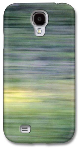 Abstract Digital Mixed Media Galaxy S4 Cases - Natural Patern Galaxy S4 Case by Jonas Leonas