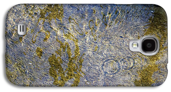 Alga Galaxy S4 Cases - Natural Ripple Art Galaxy S4 Case by Karen Adams