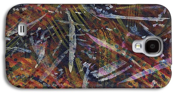 Nature Abstracts Tapestries - Textiles Galaxy S4 Cases - Nature Memoir Galaxy S4 Case by TB Schenck