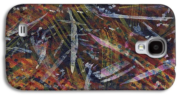 Nature Abstract Tapestries - Textiles Galaxy S4 Cases - Nature Memoir Galaxy S4 Case by TB Schenck