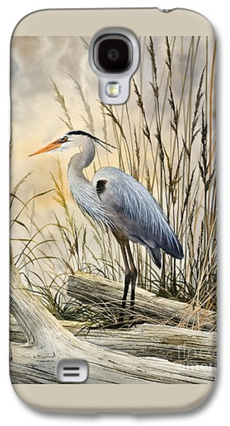 Heron Paintings Galaxy S4 Cases - Natures Wonder Galaxy S4 Case by James Williamson