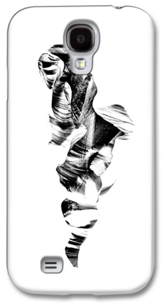 Abstract Nature Photographs Galaxy S4 Cases - Navajo Wanderer Inverted Galaxy S4 Case by Az Jackson