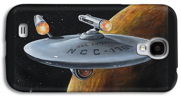 Ncc-1701 Galaxy S4 Case by Kim Lockman
