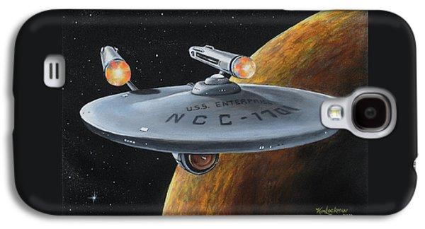 Ncc-1701 Galaxy S4 Case by Kim Lockman
