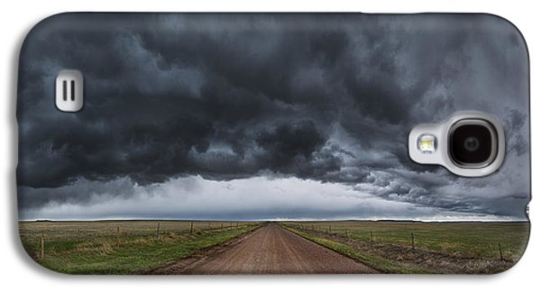 Storm Prints Photographs Galaxy S4 Cases - Nebraska 19 Galaxy S4 Case by Darren  White