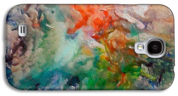 Constellations Paintings Galaxy S4 Cases - Nebula Algol Galaxy S4 Case by Dragica  Micki Fortuna