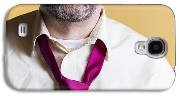 Necktie Galaxy S4 Case by Lasse Ansaharju