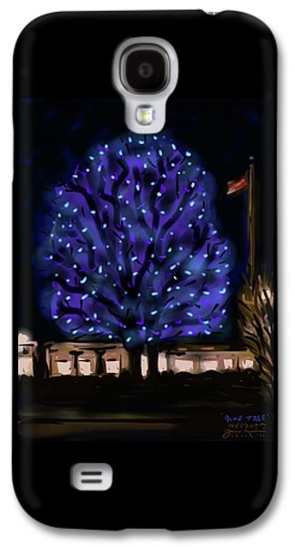 Needham's Blue Tree Galaxy S4 Case by Jean Pacheco Ravinski