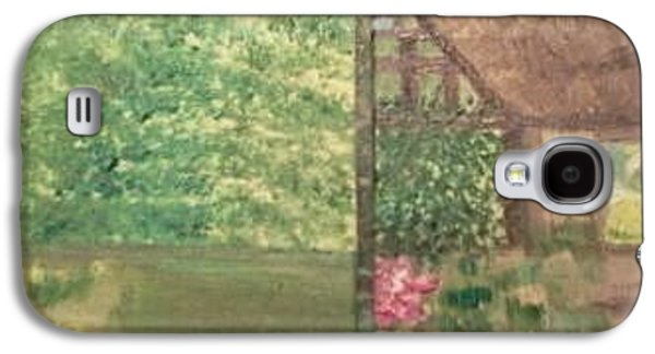 Quaker Paintings Galaxy S4 Cases - Neighbors Galaxy S4 Case by Cindy  Riley