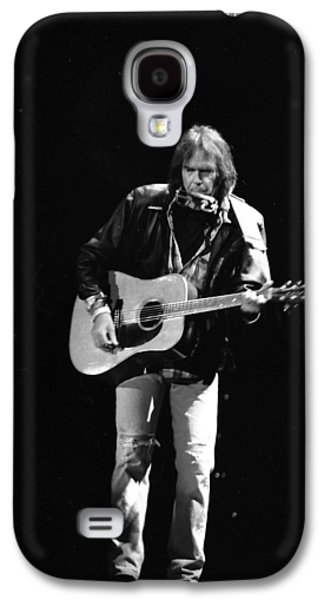 Neil Young Galaxy S4 Case by Wayne Doyle