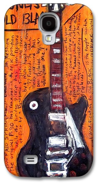 Neil Young's Old Black Galaxy S4 Case by Karl Haglund
