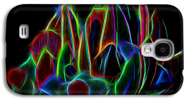 Green Galaxy S4 Cases - Neon Friut Basket Galaxy S4 Case by Linda Phelps