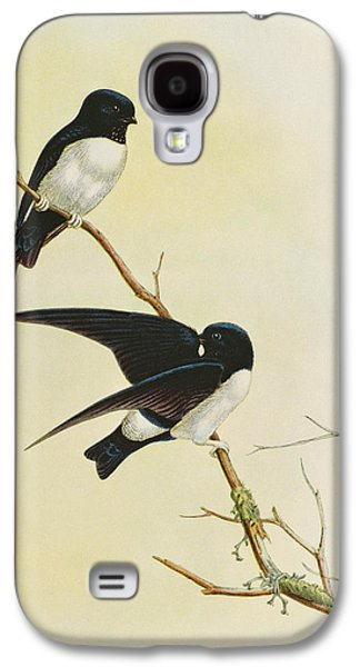 Nepal House Martin Galaxy S4 Case by John Gould