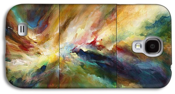 Abstract Movement Galaxy S4 Cases - Neptunes Pass Galaxy S4 Case by Michael Lang
