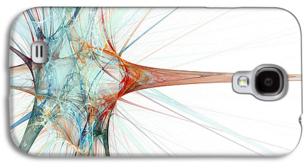 Nerve Cell, Abstract Artwork Galaxy S4 Case by Laguna Design