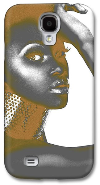 Abstracts Pyrography Galaxy S4 Cases - Nesha Galaxy S4 Case by Naxart Studio