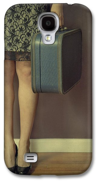 Girl Galaxy S4 Cases - Never To Look Back Galaxy S4 Case by Evelina Kremsdorf