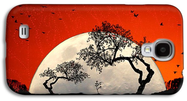 Moon Digital Galaxy S4 Cases - New Growth New Hope Galaxy S4 Case by Holly Kempe