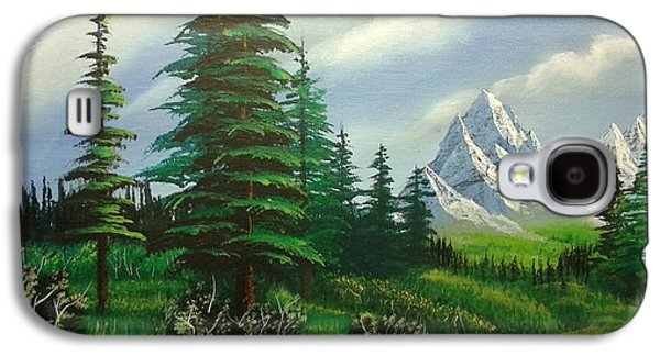 Bob Ross Paintings Galaxy S4 Cases - New Horizons Galaxy S4 Case by Christopher Soeters