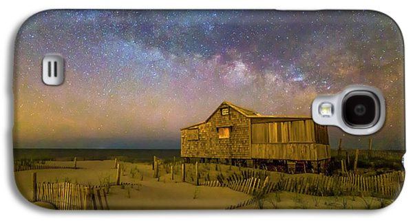 New Jersey Shore Starry Skies And Milky Way Galaxy S4 Case by Susan Candelario