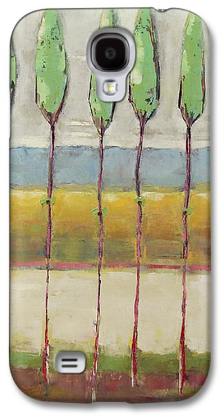 New Leaves Galaxy S4 Case by Becky Kim