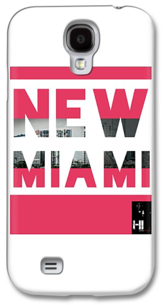 Dolphin Tapestries - Textiles Galaxy S4 Cases - New Miami  Galaxy S4 Case by HI Level