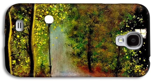 Paiting Galaxy S4 Cases - New moon... Galaxy S4 Case by Cristina Mihailescu