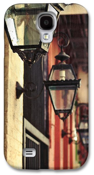 Gas Lamp Photographs Galaxy S4 Cases - New Orleans Gas Lamps Galaxy S4 Case by Jarrod Erbe