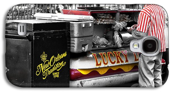 Lucky Dogs Galaxy S4 Cases - New Orleans Traditions Fusion Galaxy S4 Case by John Rizzuto