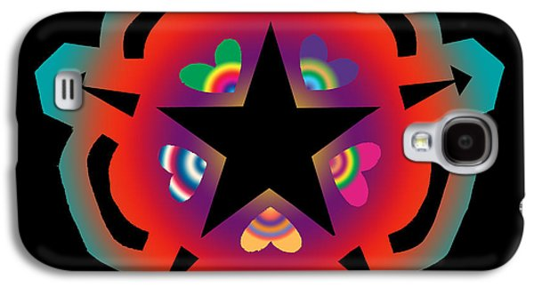 Chromatic Galaxy S4 Cases - New Star 6 Galaxy S4 Case by Eric Edelman
