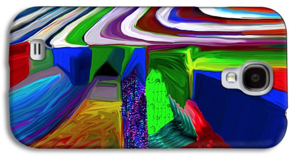 Abstract Movement Galaxy S4 Cases - New Vibe Galaxy S4 Case by Phillip Mossbarger