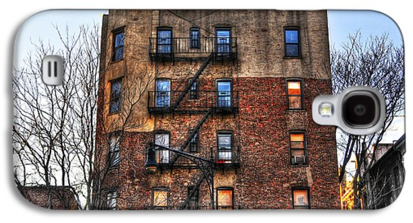East Village Galaxy S4 Cases - New York City Apartments Galaxy S4 Case by Randy Aveille