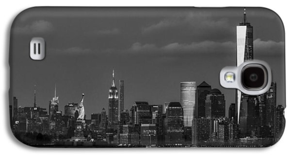 New York City Icons Bw Galaxy S4 Case by Susan Candelario