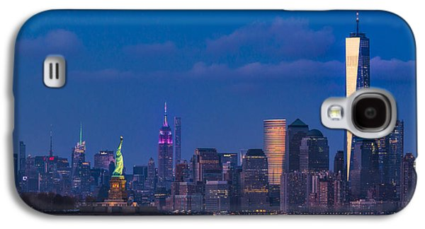New York City Icons Galaxy S4 Case by Susan Candelario