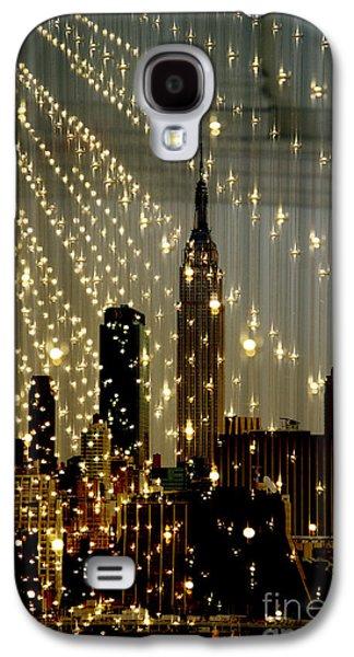 Surtex Licensing Galaxy S4 Cases - New York City Lights Galaxy S4 Case by Anahi DeCanio - ArtyZen Studios