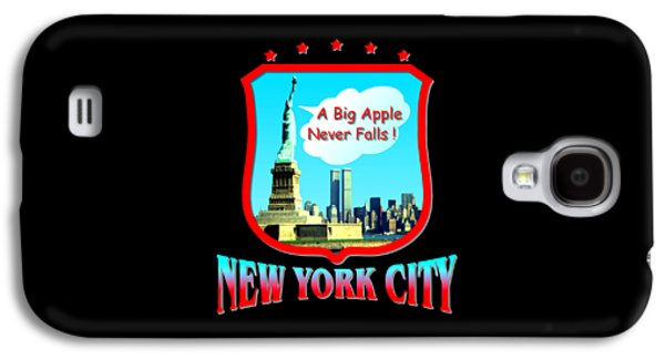 Skylines Tapestries - Textiles Galaxy S4 Cases - New York City - Big Apple Galaxy S4 Case by Art America - Art Prints - Posters - Fine Art