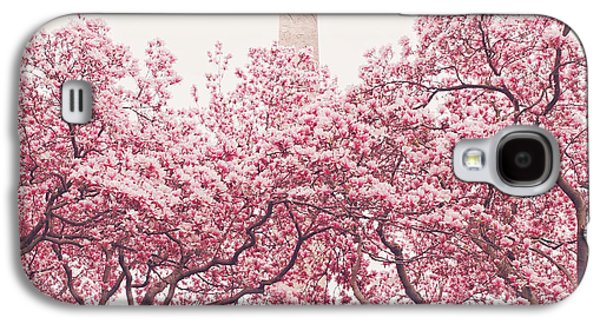 Cherry Blossoms Galaxy S4 Cases - New York City - Springtime Cherry Blossoms Central Park Galaxy S4 Case by Vivienne Gucwa
