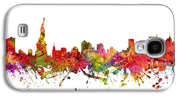 New York Cityscape 08 Galaxy S4 Case by Aged Pixel