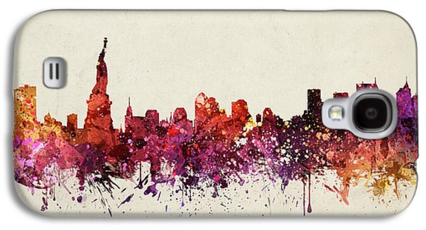 New York Cityscape 09 Galaxy S4 Case by Aged Pixel