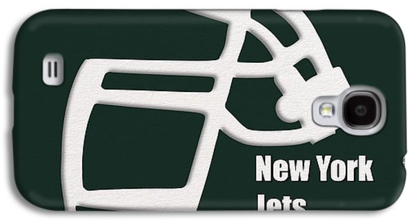 New York Jets Galaxy S4 Cases - New York Jets Retro Galaxy S4 Case by Joe Hamilton