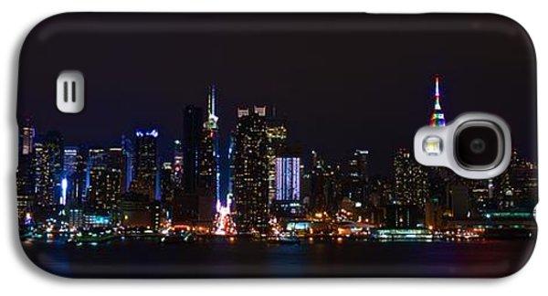 4th July Galaxy S4 Cases - New York New York Galaxy S4 Case by MingTa Li