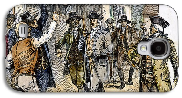 Protesters Galaxy S4 Cases - New York: Stamp Act , 1765 Galaxy S4 Case by Granger