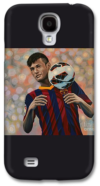 Neymar Galaxy S4 Case by Paul Meijering